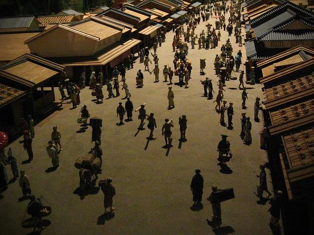 Edo, old Tokyo