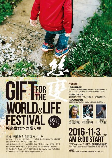 京都フォーラム2016 将来世代への贈り物
